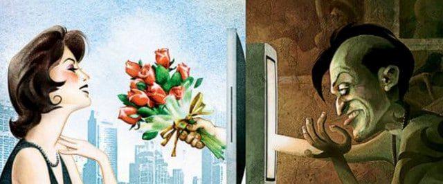 pericoli incontri online