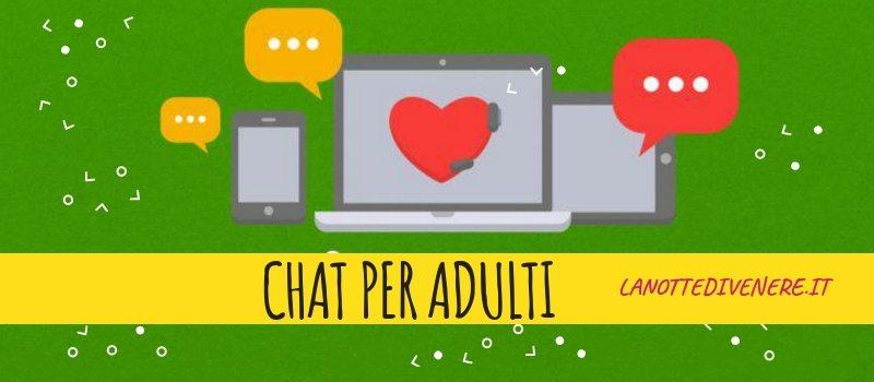 tempo di oggi chat incontri per adulti