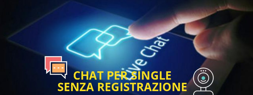 chat per single senza registrazione