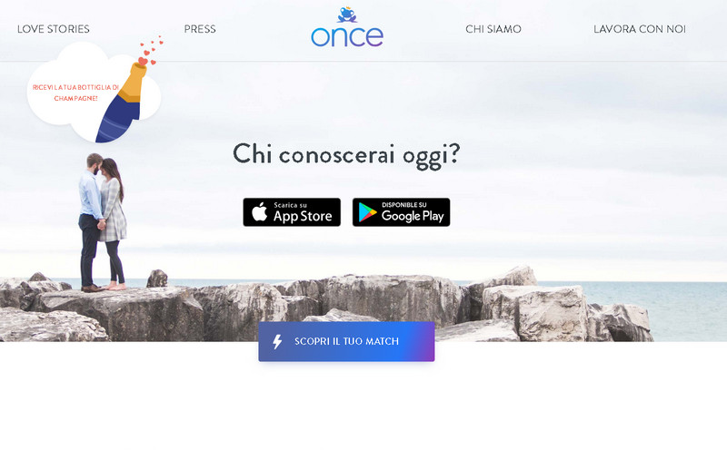 once app home page